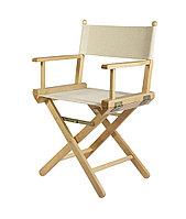 Режиссерский стул из дерева