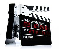 Часы будильник - Режиссерская хлопушка