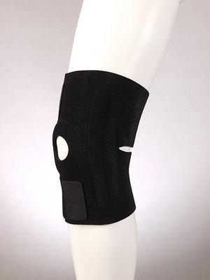Фиксатор колена с пластинами разъемный (one size) F 1281, черный