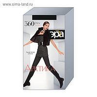 Колготки теплые женские ЭРА Арктика 360 цвет чёрный, р-р 5