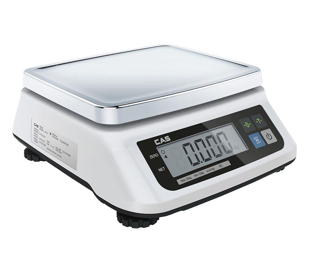 Весы порционные CAS SWN-15 DD