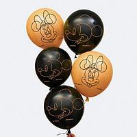 Воздушные шары 'Gold', Микки Маус и друзья (набор 25 шт) 12 дюйм