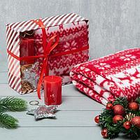 Подарочный набор LoveLife 'Новогоднее чудо' плед 150*130 см, свеча, брелок