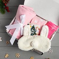 Набор подарочный New Year плед и аксессуары