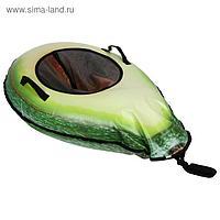 Тюбинг-ватрушка «Авокадо», размер 1 х 0,7 м