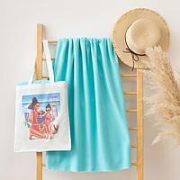 """Набор LoveLife """"Family"""": сумка-шопер 33*39 см + флисовый плед 150*130 см"""