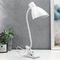 Настольная лампа 16700/1WT Е27 15Вт белый