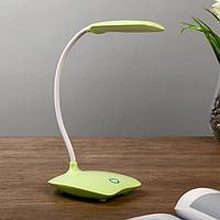 Лампа настольная 'Симпл' LED 5Вт USB МИКС 16х16х38 см.