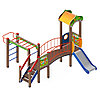 Детский игровой комплекс «Полянка» ДИК 1.16.06 H=750 (ДИК 1606), фото 4