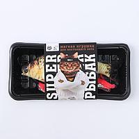 Мягкая игрушка для кошки «SUPER РЫБАК»