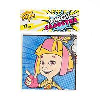 Салфетка бумажная «Фиксики», комиксы, 25 см, набор 12 шт.