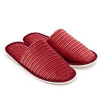 Тапочки женские цвет красный, размер 35