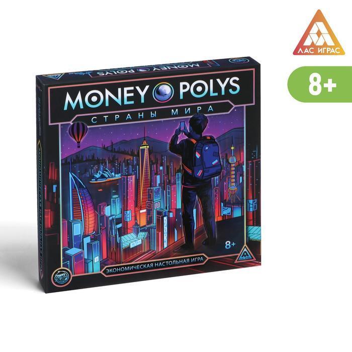 Экономическая игра 'MONEY POLYS. Страны мира', 8+ - фото 1