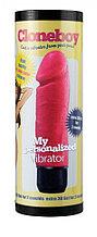 Набор для создания фаллоимитатора с вибрацией Cloneboy My Personalizzed Vibrator Hot Pink