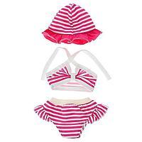 Одежда для кукол 38-43 см топик, шорты с панамой, МИКС