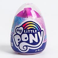 Опыты для детей 'Весёлые кристаллы' Пони, My little pony МИКС