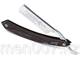 Опасная бритва (затачиваемая) из немецкой стали Kissaki с чехлом 15 см