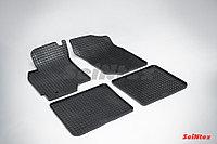 Резиновые коврики для Mitsubishi Lancer IX 2003-2007