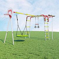 Детский спортивный комплекс для дачи ROMANA Акробат 2 + Качеля Гнездо