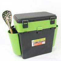 "Ящик зимний ""FishBox"" (19л) зеленый Helios tr-156314"