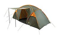 Палатка BORA-6 Helios зеленый-оранжевый HS-2371-6 GO