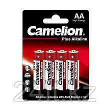 Батарейка CAMELION Plus Alkaline LR6-BP4 4 шт. в блистере