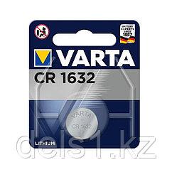 Батарейка, VARTA, CR1632, 3V, 1 шт.
