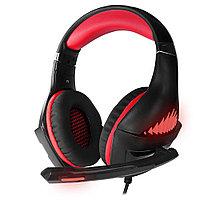 Гарнитура игровая CROWN CMGH-2100 Black&red