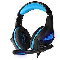 Гарнитура игровая CROWN CMGH-2101 Black&blue, фото 1