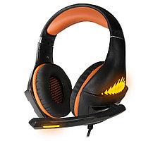 Гарнитура игровая CROWN CMGH-2103 Black&orange