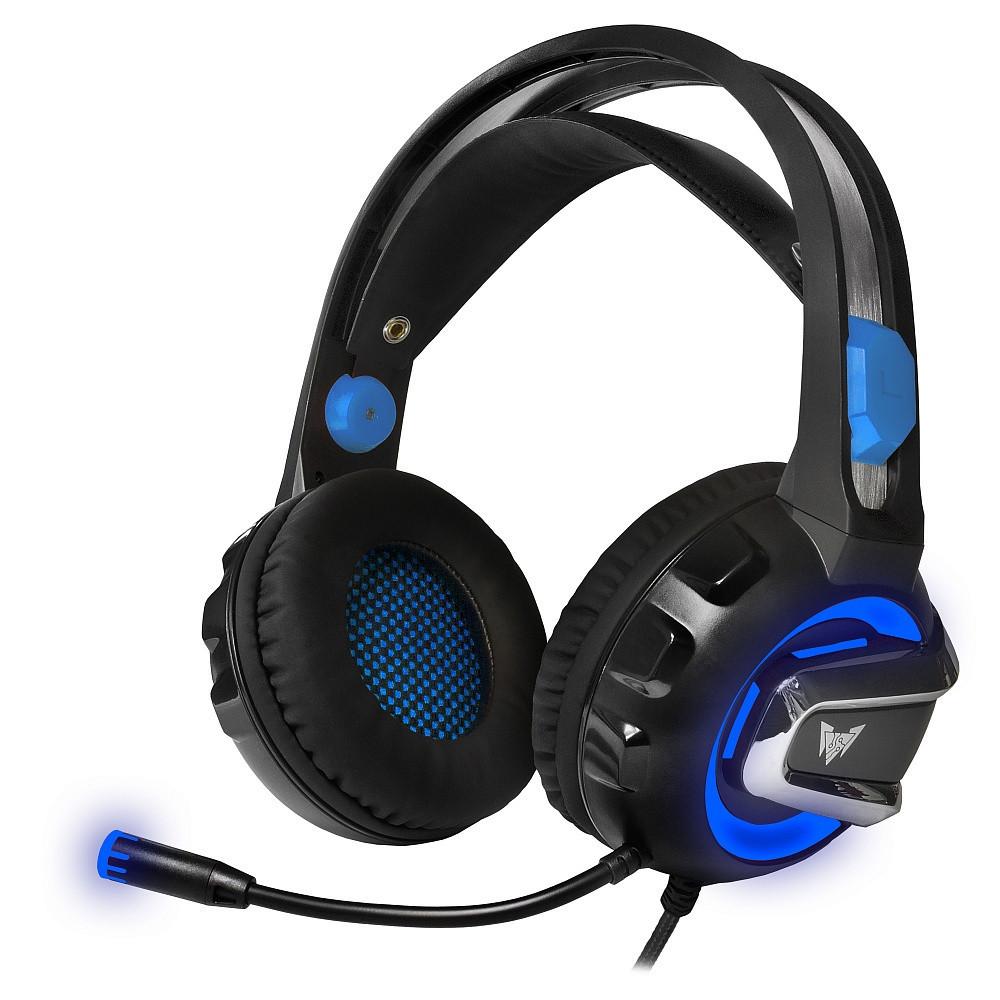 Гарнитура игровая CROWN CMGH-3001 Black&blue