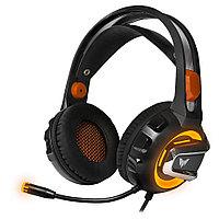 Гарнитура игровая CROWN CMGH-3003 Black&orange