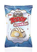 Пончик снежок Snowball TODAY молочный 45 гр (24 шт в упак)