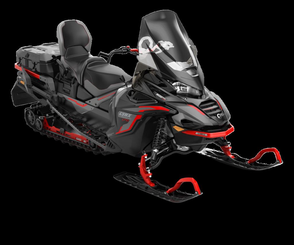 Commander LTD 900 ACE TURBO Черно-серый с красным 2022
