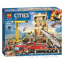 Конструктор Аналог Лего LEGO City 60216 Lari City Центральная пожарная станция 11216