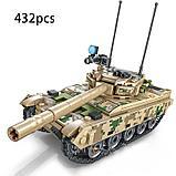 Конструктор аналог лего LEGO Sembo 105562 Основной боевой танк VT-4, фото 2