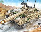 Конструктор аналог лего LEGO Sembo 105562 Основной боевой танк VT-4, фото 5
