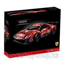 "Конструктор Аналог Лего Техник LEGO 42125 Ferrari 488 GTE ""AF Corse #51 KING 40031 феррари"