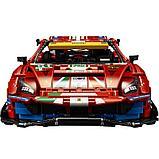 """Конструктор Аналог Лего Техник LEGO 42125 Ferrari 488 GTE """"AF Corse #51 KING 40031 феррари, фото 5"""