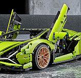Конструктор Lamborghini Sian FKP 37 – аналог лего Lego 42115, King 81996, фото 3