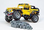Конструктор аналог лего техник Lego Technic Jeep Wrangel 42122 LELE 40032, фото 6