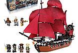 Конструктор  аналог лего Lego Pirates 4195 Пираты Карибского моря 6001 Месть Королевы Анны 1207 дет, фото 2