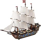 Конструктор аналог лего lego 10210 пираты карибского моря Корабль Имперский флагман 22001/19003 Imperial Flags, фото 2