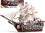 Конструктор аналог лего lego 10210 пираты карибского моря Корабль Имперский флагман 22001/19003 Imperial Flags, фото 4