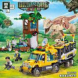 Конструктор QL1720 Jurassic World  Аналог лего LEGO 75929 похищение динозавра 582 деталей, фото 3