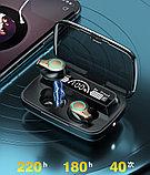 Беспроводные наушники AirPods M18 TWS Bluetooth 5,1 аирподс 3500 мп с Power Bank, фото 7