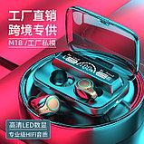 Беспроводные наушники AirPods M18 TWS Bluetooth 5,1 аирподс 3500 мп с Power Bank, фото 9