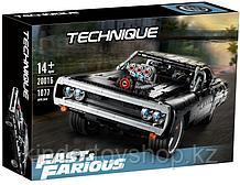 Конструктор аналог лего Форсаж Lego 42111 Dodge Charger Доминика Торетто Lepin 20016 Fast & Furious