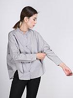 """Рубашка """"Шарик"""" с длинными рукавами Серый, 48/52"""