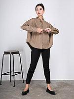 """Рубашка """"Шарик"""" с длинными рукавами хаки, 42/46"""